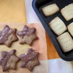 Еспресо звездички и шотландски маслени сладки от Жени Колева.